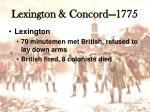 lexington concord 17752