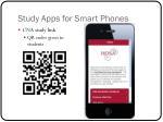 study apps for smart phones