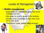 levels of management1
