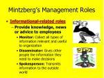 mintzberg s management roles1