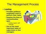 the management process4