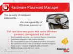 hardware password manager