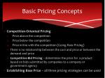 basic pricing concepts1