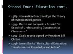 strand four education cont3