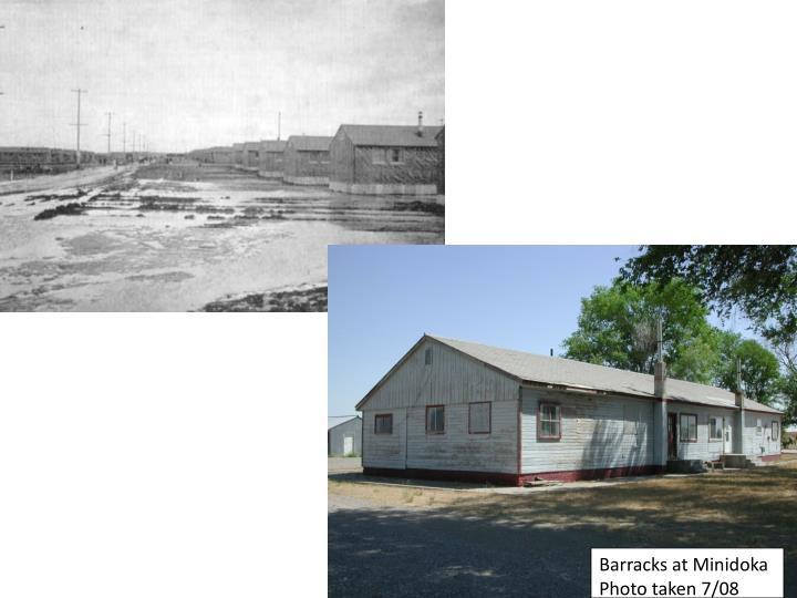 Barracks at Minidoka