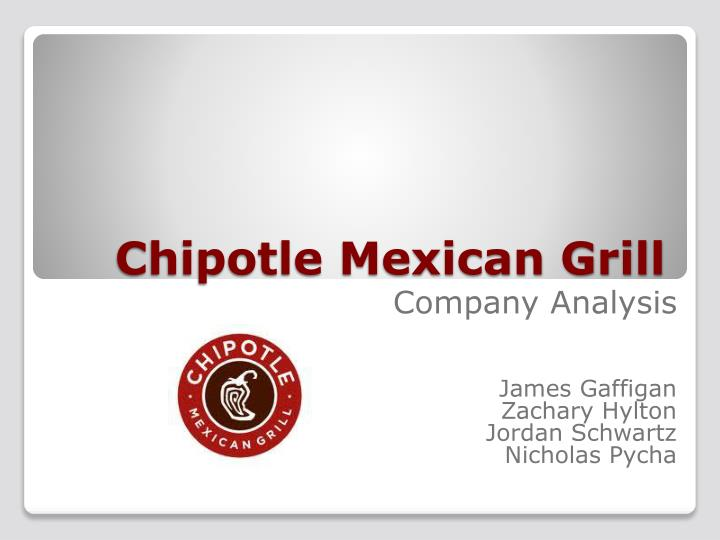 chipotle mexican grill n.