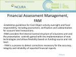 financial assessment management fam