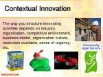 contextual innovation
