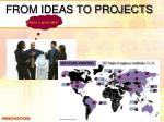 from ideas to projects