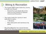 biking recreation