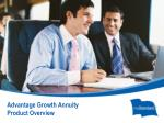 advantage growth annuity product overview