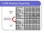 11495 bracket assembly