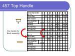 457 top handle