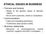 ethical issues in business2