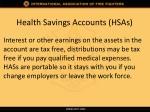 health savings accounts hsas2