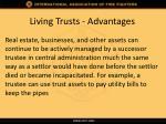 living trusts advantages2