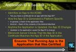 application id security