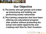 our objective1