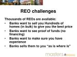 reo challenges