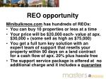 reo opportunity