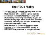 the reos reality