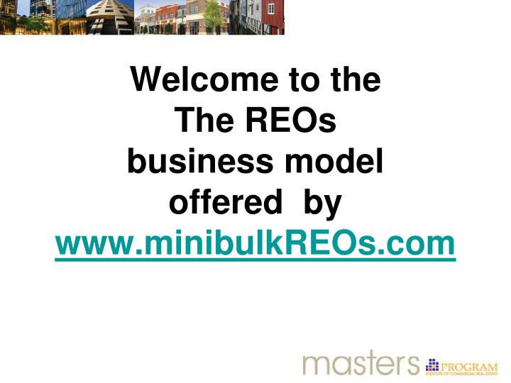 welcome to the the reos business model offered by www minibulkreos com n.