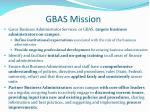 gbas mission