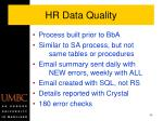 hr data quality