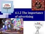 4 1 2 the importance of advertising