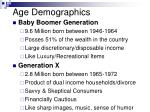 age demographics