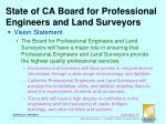 state of ca board for professional engineers and land surveyors1