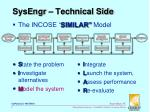 sysengr technical side