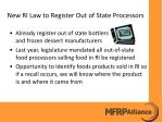 new ri law to register out of state processors