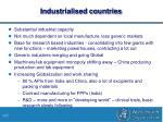 industrialised countries