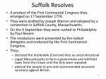 suffolk resolves