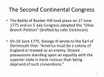 the second continental congress1