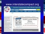 www interstatecompact org
