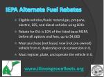 iepa alternate fuel rebates