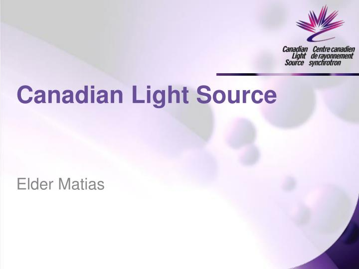 canadian light source n.