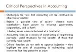 critical perspectives in accounting1