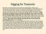 digging for treasures
