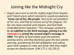 joining like the midnight cry