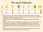 the jesuit takeover