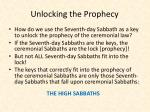 unlocking the prophecy