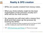 reality dfd creation
