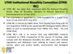 utar institutional biosafety committee utar ibc