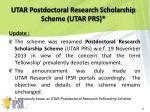 utar postdoctoral research scholarship scheme utar prs