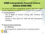 utar undergraduate research scheme scheme utar urs1