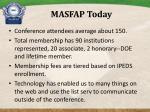 masfap today