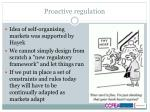 proactive regulation